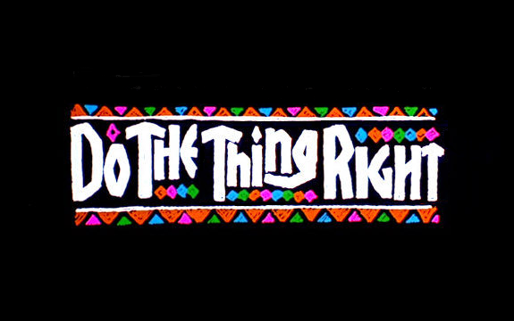do the thing right - Copy